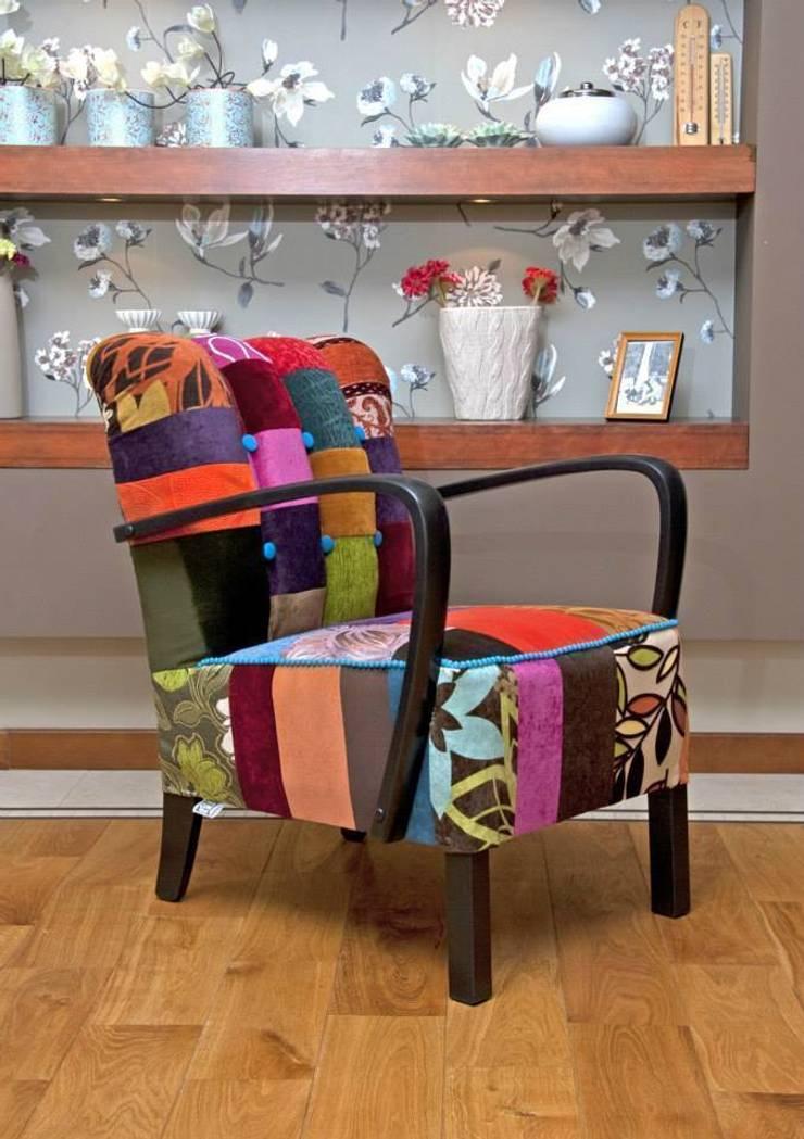 Nadziewana czekolada: styl , w kategorii Salon zaprojektowany przez DECOPRACOWNIA