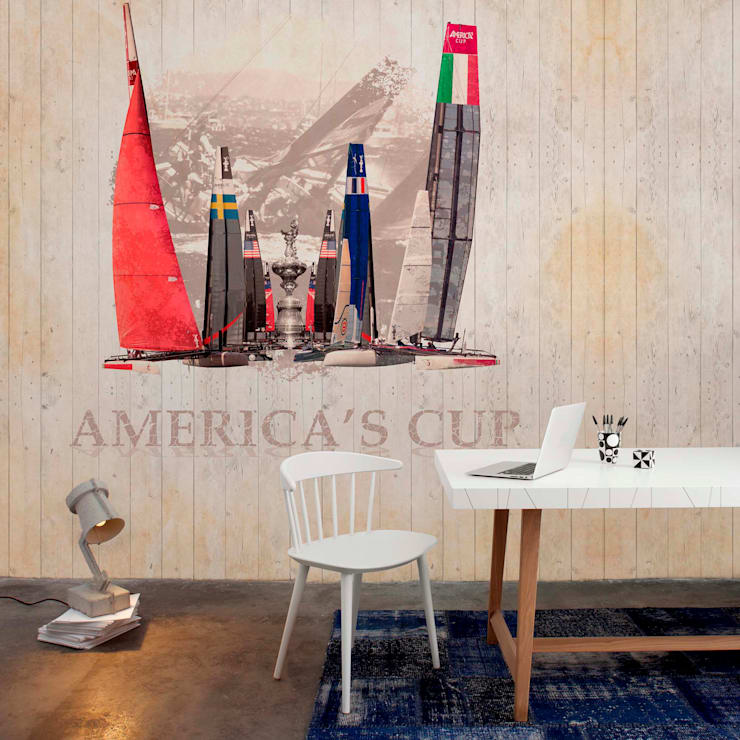 Stars & Stripes Wallpaper Collection:  Walls & flooring by Paper Moon