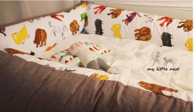baby classic comfort bumper: 마이리틀네스트의  아이 방