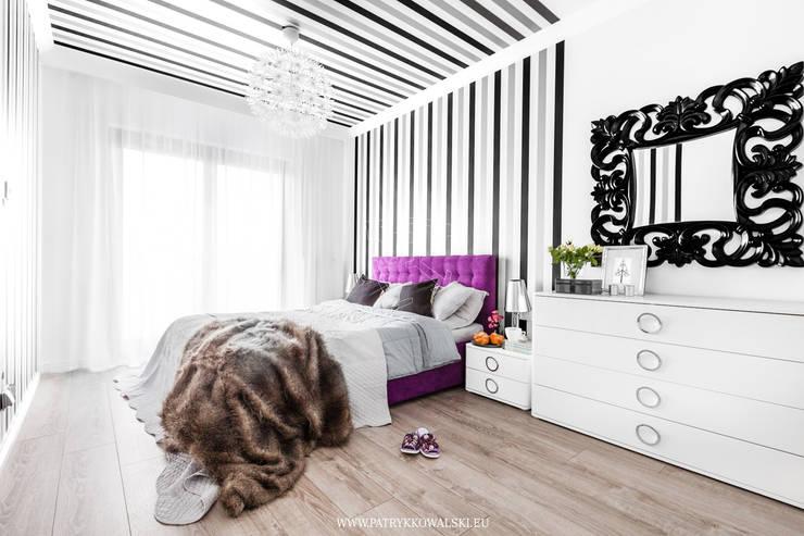 Sypialnia: styl , w kategorii  zaprojektowany przez Patryk Kowalski Architektura i projektowanie wnętrz