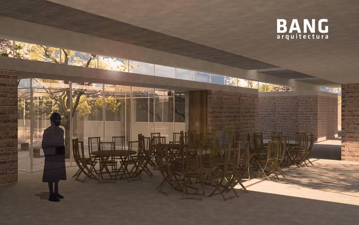Comedor / Áreas comunes:  de estilo  por BANG arquitectura