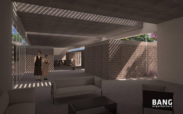 Sala de estar / Áreas comunes:  de estilo  por BANG arquitectura