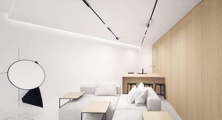 Salas de estilo  por Mess Architects