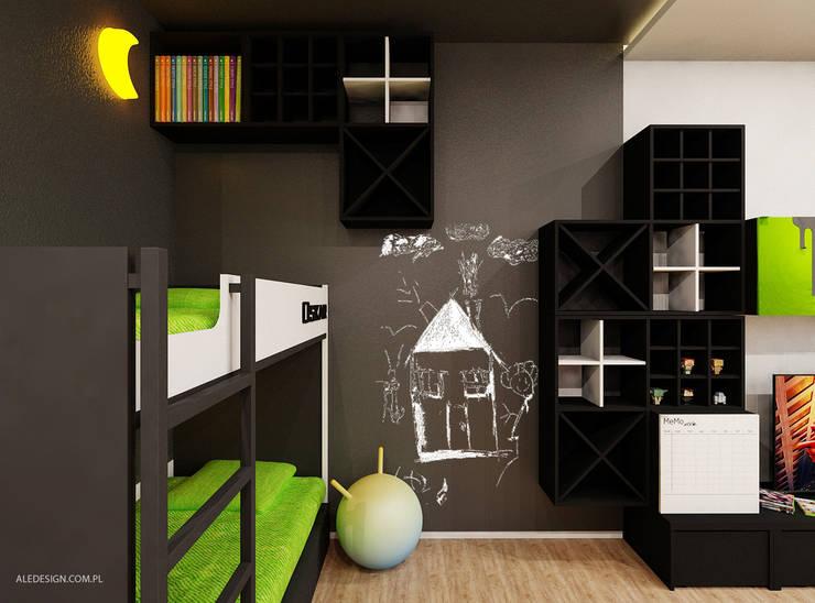 Pokój chłopców w wieku 8 i 5 lat: styl , w kategorii Pokój dziecięcy zaprojektowany przez Ale design Grzegorz Grzywacz