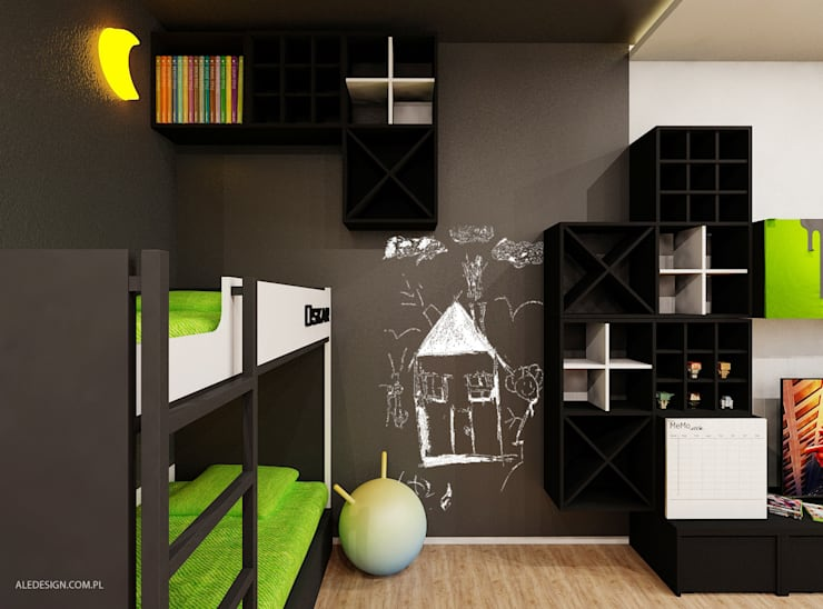 Ale design Grzegorz Grzywacz: modern tarz Çocuk Odası