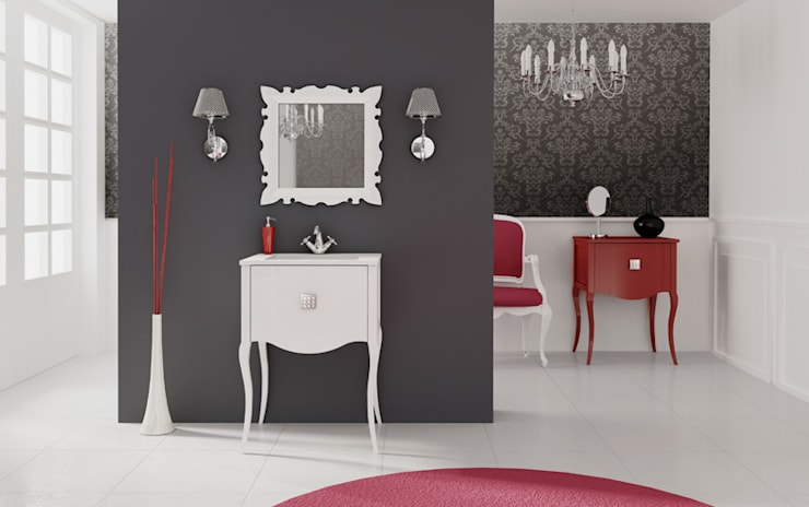 Mueble de baño modelo Viena: Baños de estilo  de Baños Online