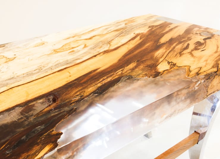 'Japan' console table:  Artwork by Neil Scott Furniture Limited