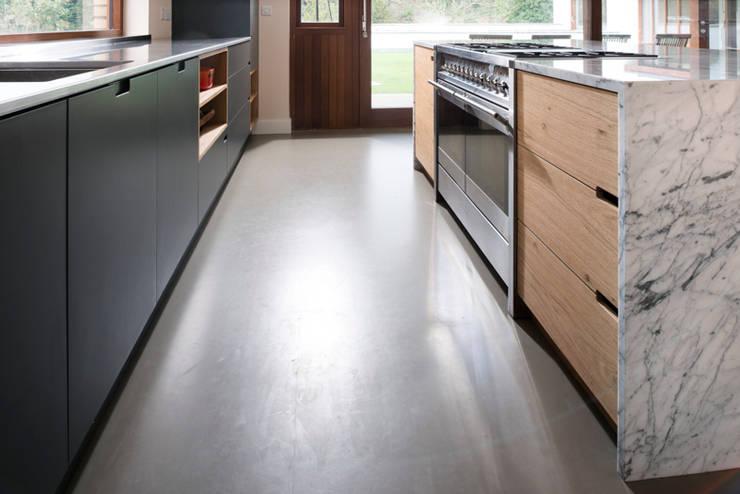 Clean Lines: modern Kitchen by Terry Design