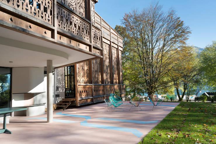 c  Ulrich Ghezzi:  Garten von Architekt Alexander Diem