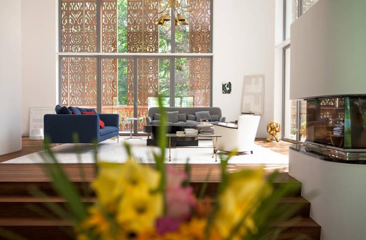 c Andreas Balon:  Wohnzimmer von Architekt Alexander Diem