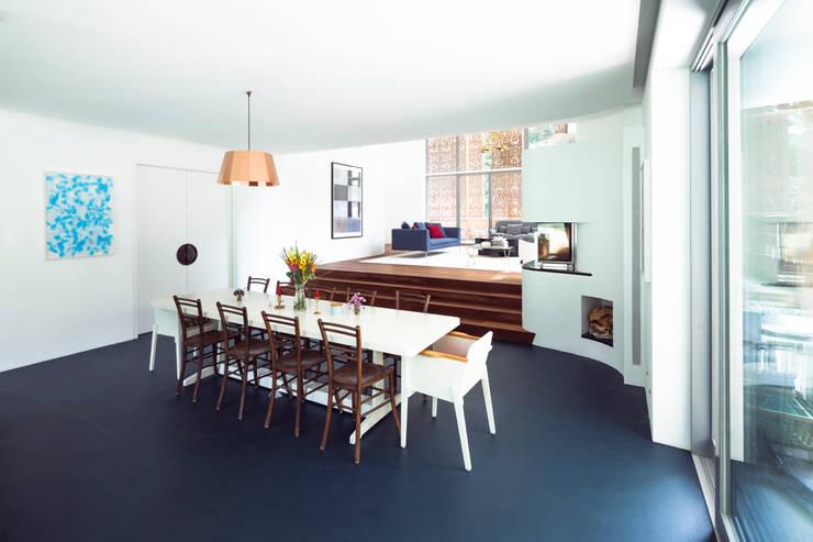 c Andreas Balon:  Esszimmer von Architekt Alexander Diem
