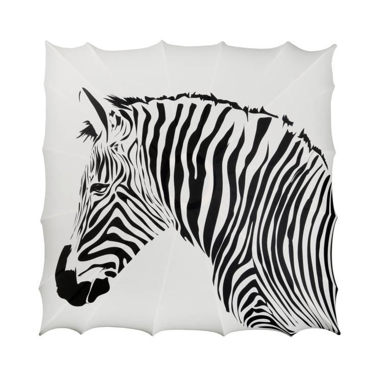 Kinkiet Zebra: styl , w kategorii Salon zaprojektowany przez Lumiforma