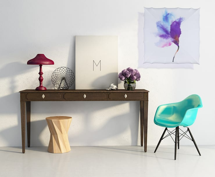 Kinkiet Flower: styl , w kategorii Salon zaprojektowany przez Lumiforma