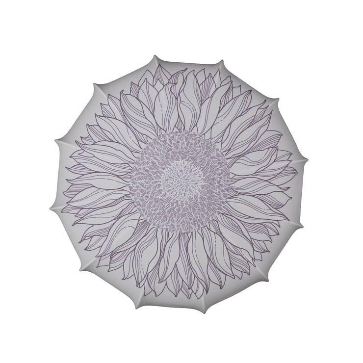 Plafon Sunflower (mały): styl , w kategorii Sypialnia zaprojektowany przez Lumiforma