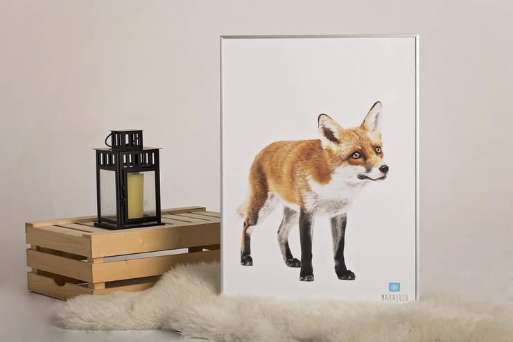 plakat - MAKALULU: styl , w kategorii  zaprojektowany przez Martyna Wieczorek