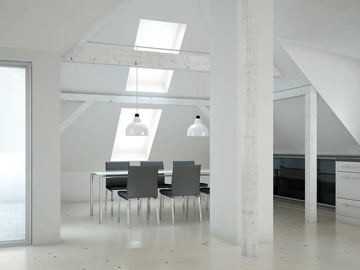 Comedores de estilo  por Innenarchitektur  Schucker & Krumm