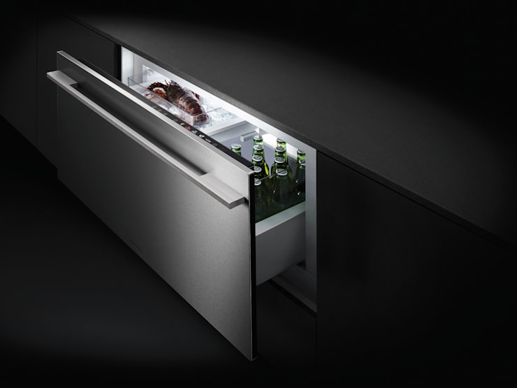 Multi-temperature Cool Drawer: modern Kitchen by Fisher & Paykel