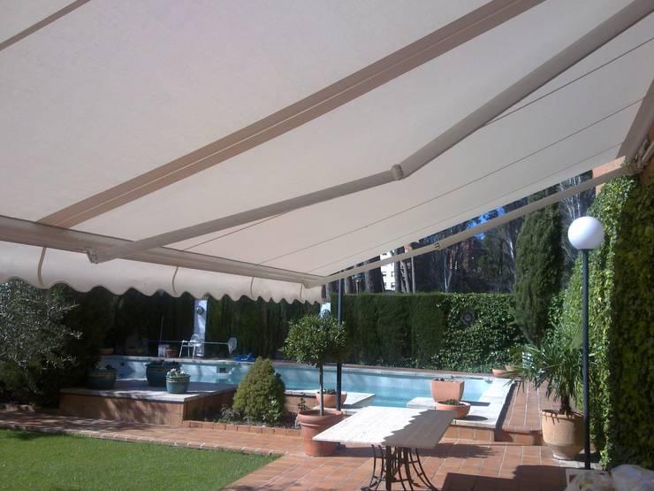 Toldos para jardines y balcones modelos y precios - Precio toldo terraza ...