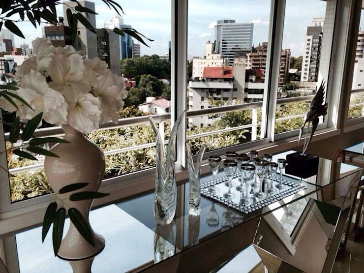 DETALHES : Salas de estar  por Motta Viegas arquitetura + design