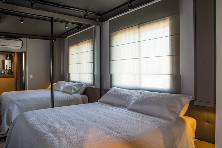 Modern Yatak Odası Leticia Sá Arquitetos Modern