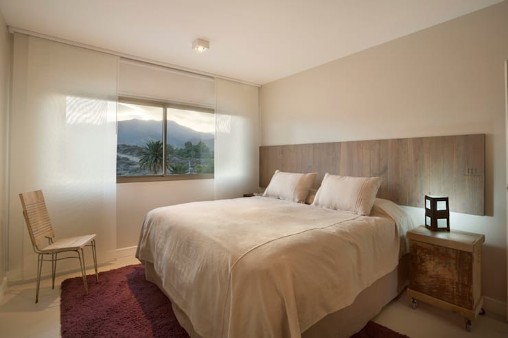 Habitación Principal: Dormitorios de estilo  por Cohen - Reig Arquitectura & Interiorismo,Moderno