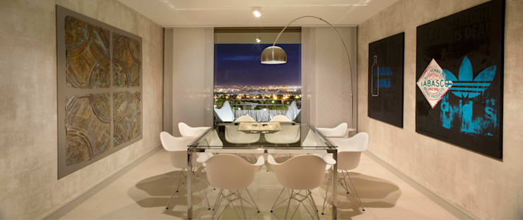 Comedor Principal: Livings de estilo  por Cohen - Reig Arquitectura & Interiorismo,Moderno