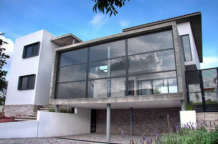 Casa RDM45: Casas de estilo  por VG+VM Arquitectos