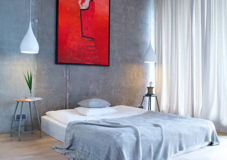 sypialnia: styl , w kategorii  zaprojektowany przez IDEARCHITEKTURA