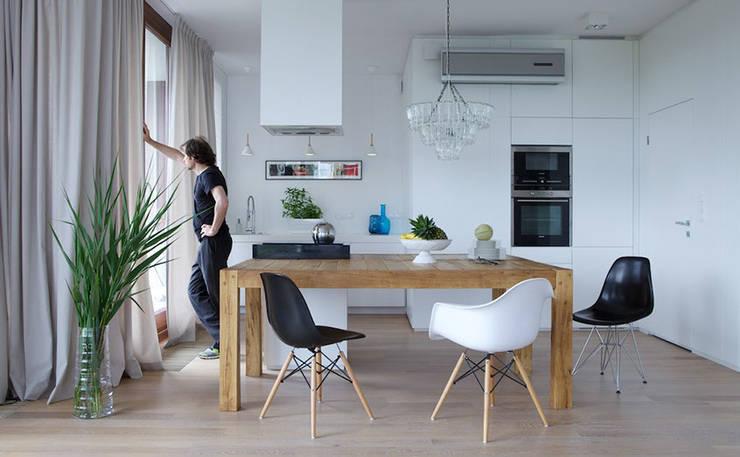 kuchnia: styl , w kategorii  zaprojektowany przez IDEARCHITEKTURA