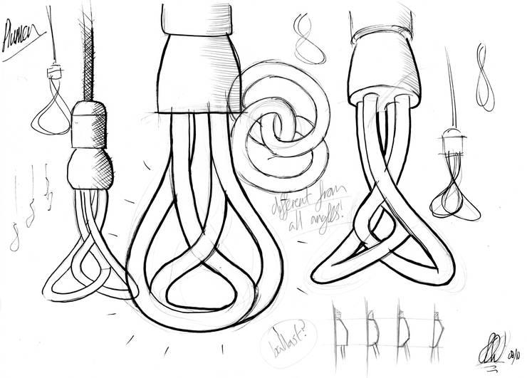 Plumen 001 sketch:   by Samuel Wilkinson studio