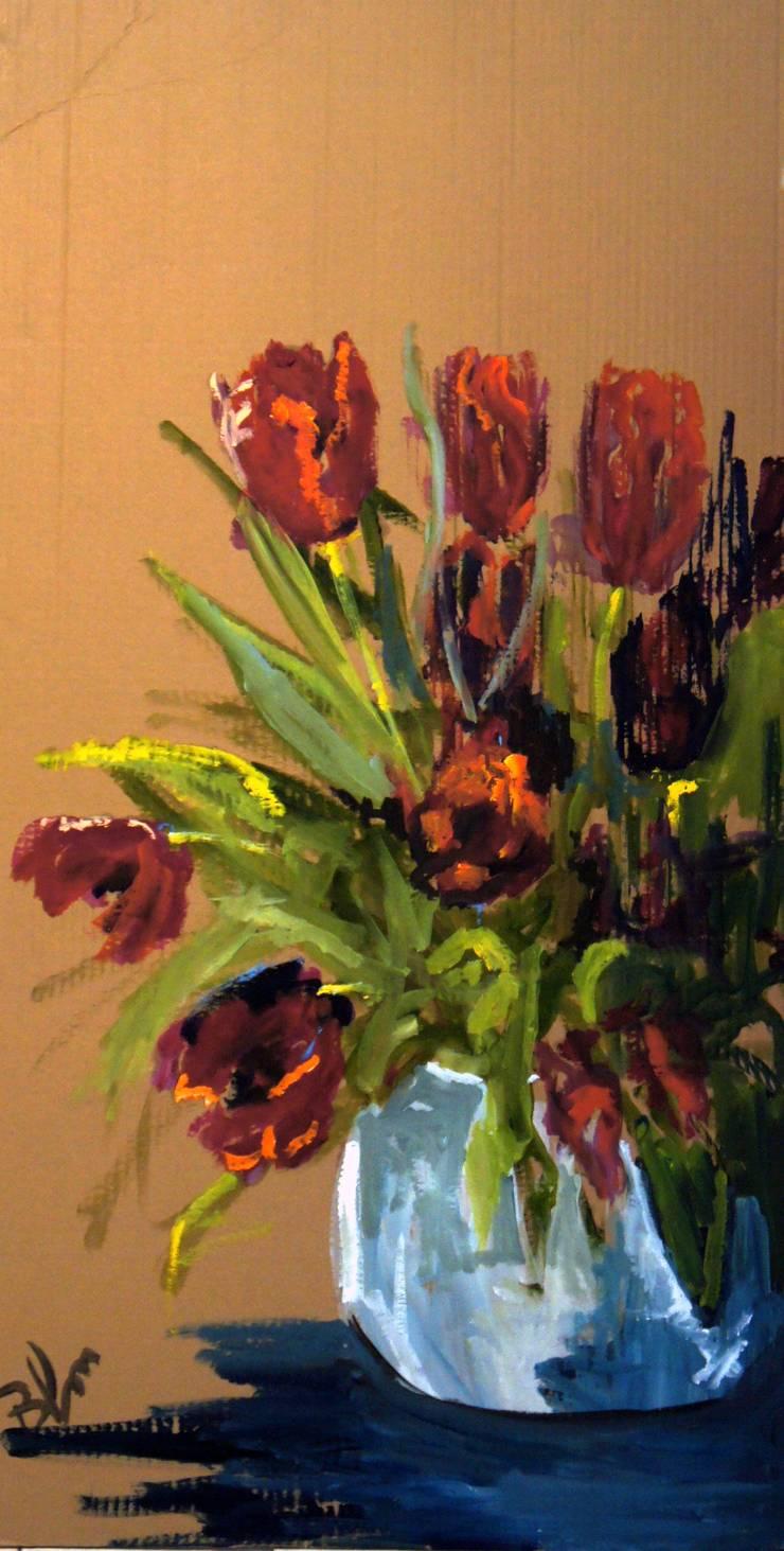 Tulips:   door leida blom, Klassiek