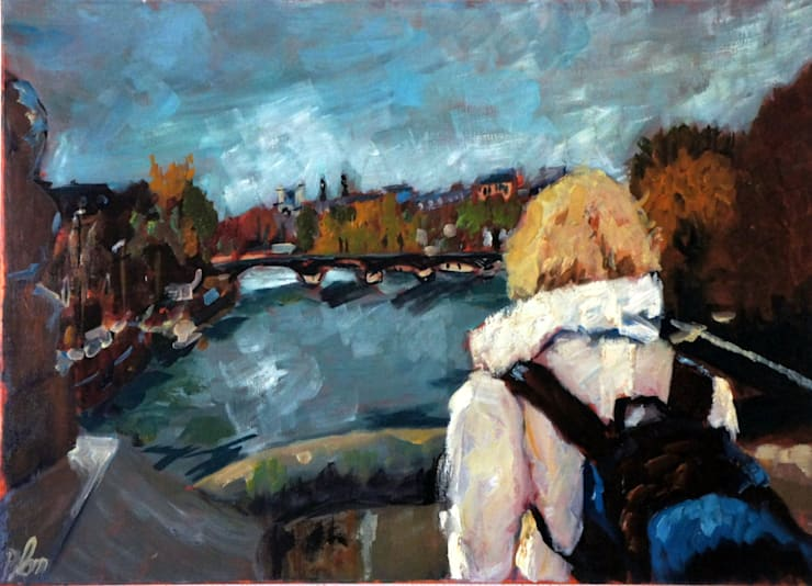 Ponts des Arts:   door leida blom, Klassiek