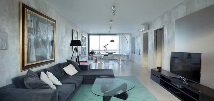 Departamento en Pedemonte: Livings de estilo  por Cohen - Reig Arquitectura & Interiorismo