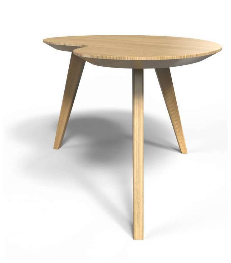 Les tables basses 45, 60 et 80 cm: Salon de style  par Osmose le bois