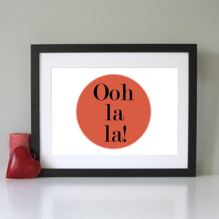 Ooh la la print:  Artwork by Always Sparkle