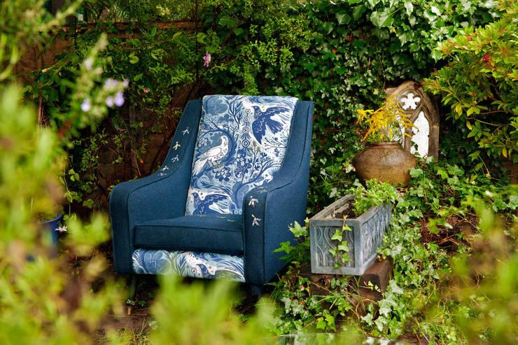 Brighton:  Living room by polly granville ltd