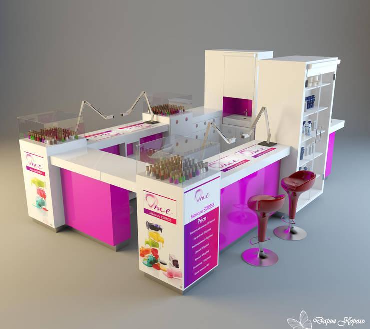 Проект Неил бара (маникюр экспрес) 2: Торговые центры в . Автор – Your royal design,