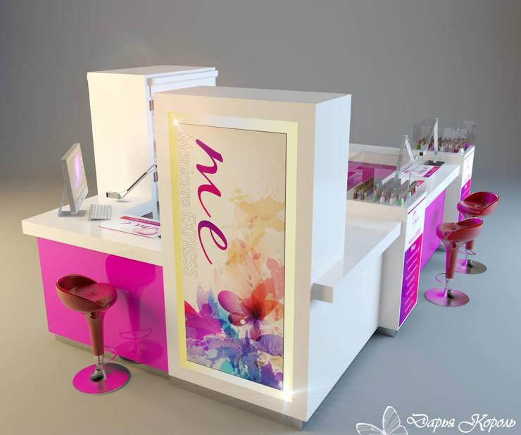 Проект Неил бара (маникюр экспрес) 2: Коммерческие помещения в . Автор – Your royal design,