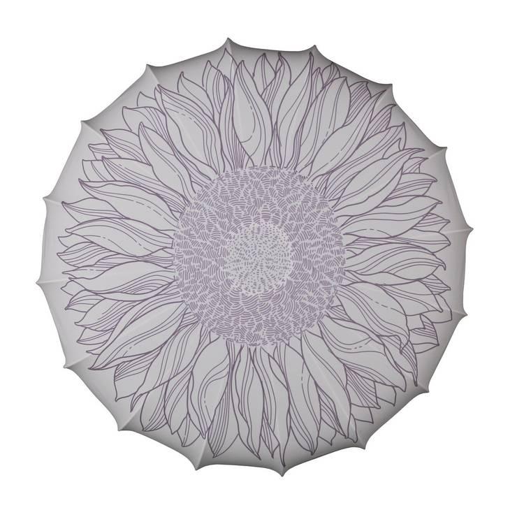 Plafon Sunflower (duży): styl , w kategorii Sypialnia zaprojektowany przez Lumiforma
