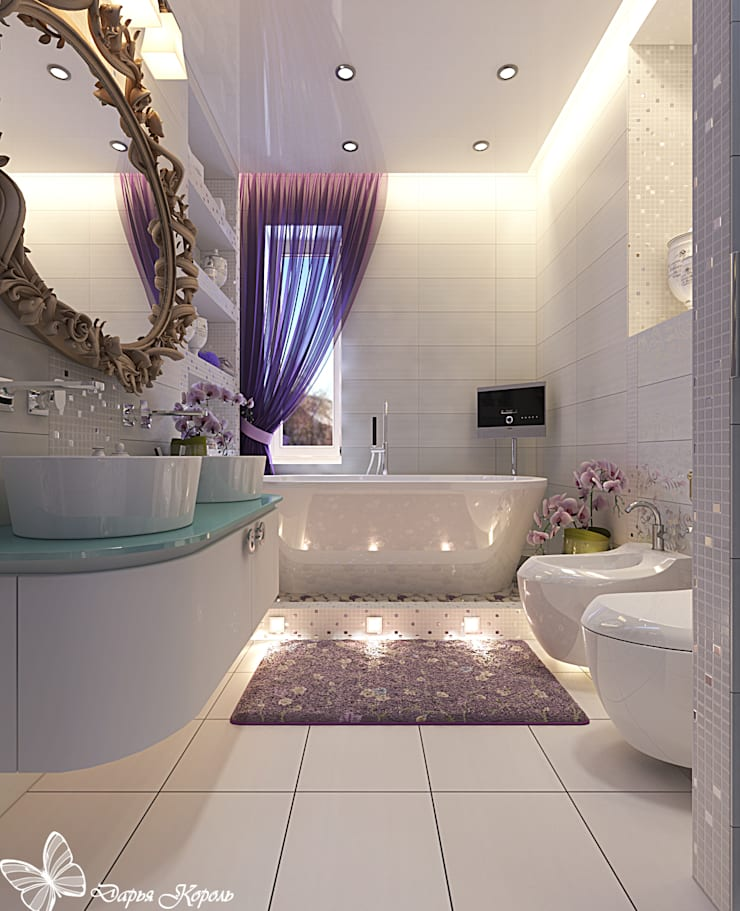"Bathroom in the bedroom ""Provence"": Ванные комнаты в . Автор – Your royal design"