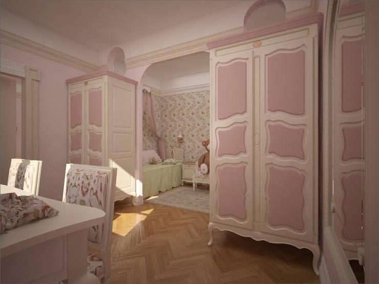 Детская: Детские комнаты в . Автор – 16dots