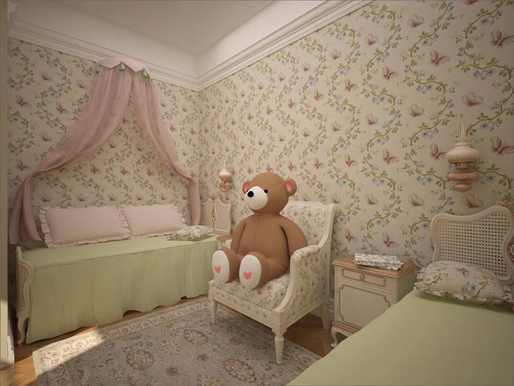 Детская комната. Ночная зона: Детские комнаты в . Автор – 16dots