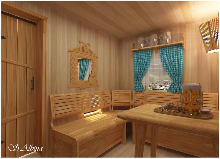 Spa de estilo escandinavo de студия авторского дизайна  Альбины Сибагатулиной