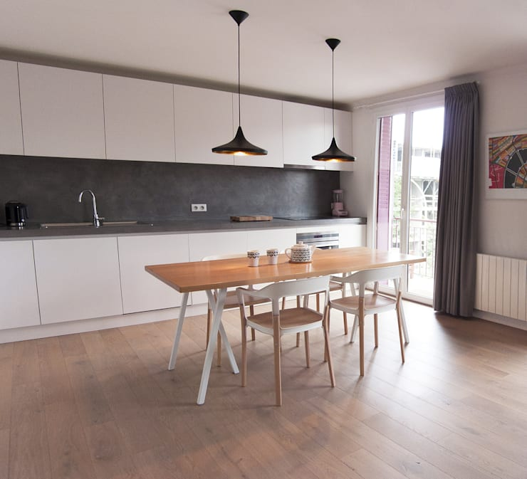 Cuisine: Cuisine de style de style Moderne par Antoine Chatiliez