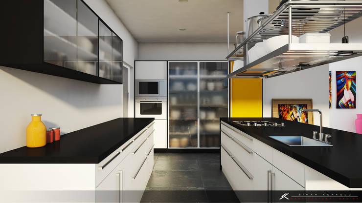 Kitchen by SK ARCHITECTURAL VISUALIZATION