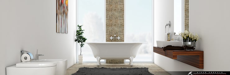 SK ARCHITECTURAL VISUALIZATION – Banyo (Bathroom):  tarz Banyo