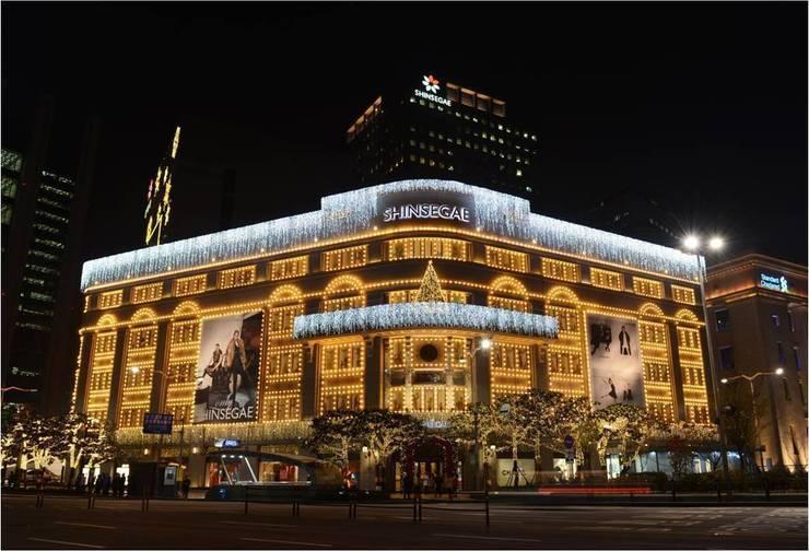 신세계 백화점_2013: Eon SLD의  행사장