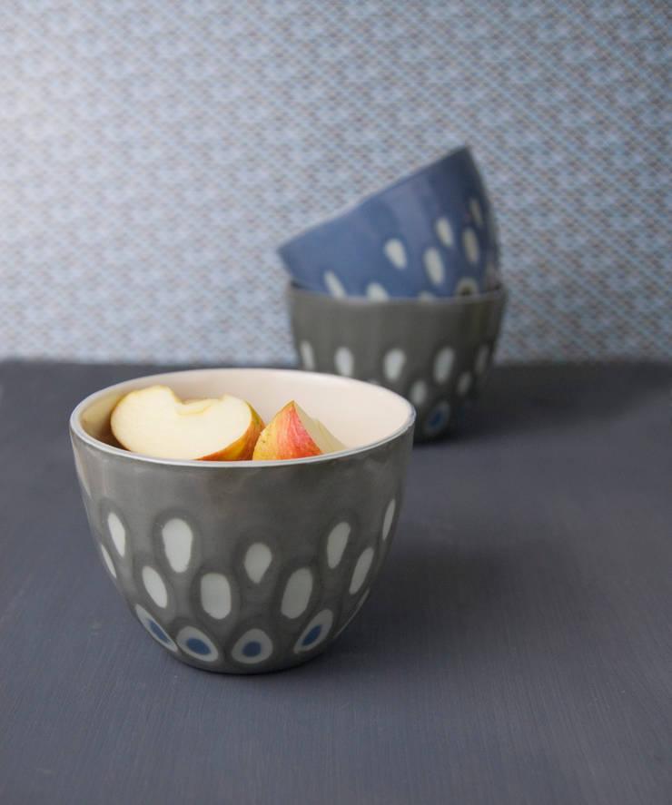 Ceramika: styl , w kategorii Kuchnia zaprojektowany przez imkadesign