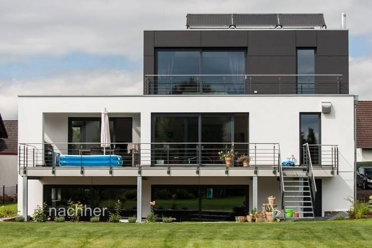 Modern houses by Architekturbüro Stefan Schäfer Modern