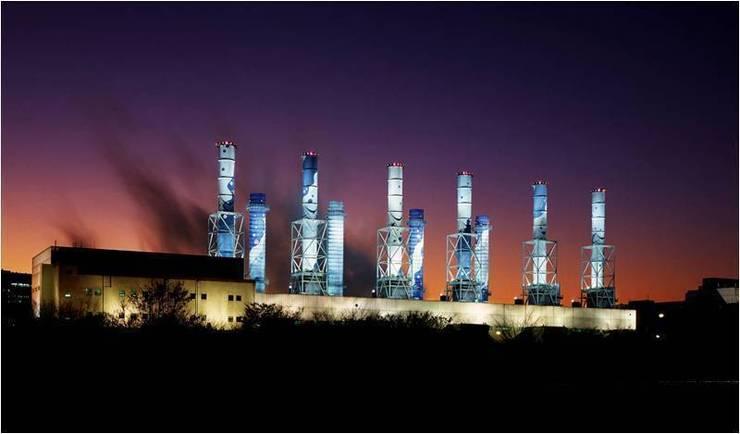 일산복합 화력 발전처_2007: Eon SLD의  상업 공간